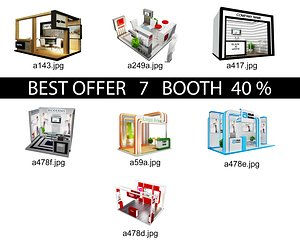 Booth Exhibition Stand c5 model