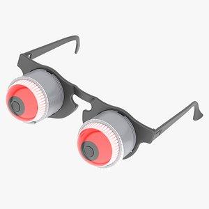 pop eyeball glasses eyes 3D