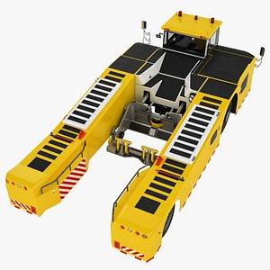 Deck Tow Tractor Generic 02 3D model