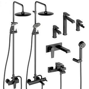 3D shower cezares 2 faucet