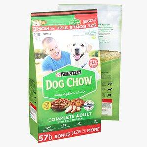 3D Purina Dog Chow Food