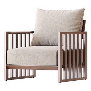 3D Bolerina armchair model