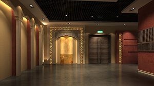 3D muslim interior model
