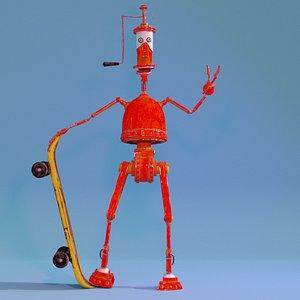 Robots 2005 3D model