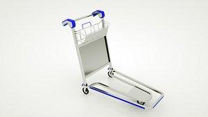 3D trolley luggage