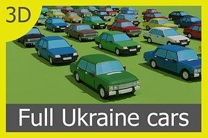 3D cars ukraine