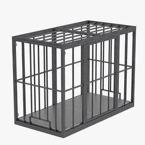 BDSM Slave Cage(1) 3D model