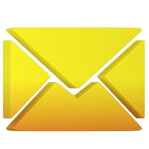 letter icon yellow model