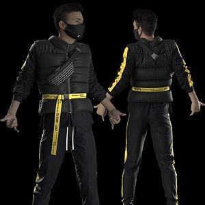 Male Streetwear 4. Marvelous Designer project 3D
