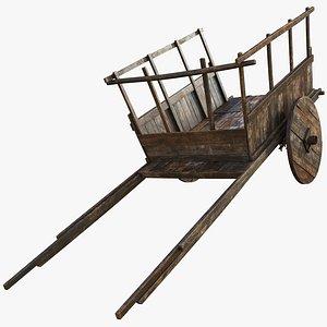 3D model wooden pbr