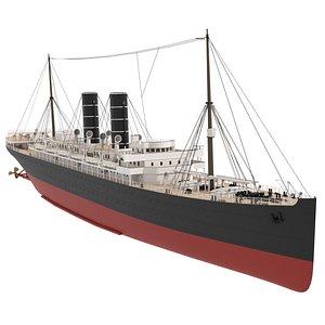 generic ship 3D