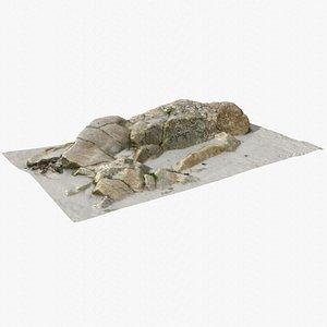 3D Rock 3D Scan 35