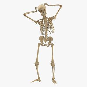 Real Human Female Skeleton Pose 76(1) model