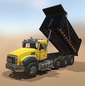 3D model dump truck