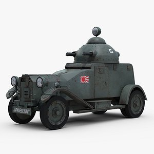 3d ww2 vickers crossley 25