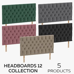 3D Headboards 12 Collection