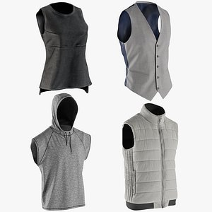 3D realistic vests collections