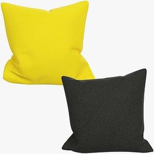 Sofa Pillows Collection V12 3D model