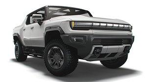 3D model GMC Hummer EV Pickup 2022