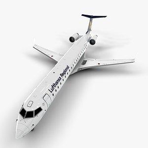 bombardier crj 700 3D model