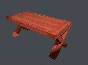 wood wooden table model