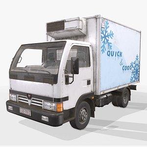 3D refrigerated truck light