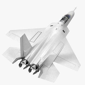 Mitsubishi X2 Shinshin Aircraft Rigged 3D model