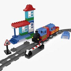 Lego Duplo Train Set 3D model