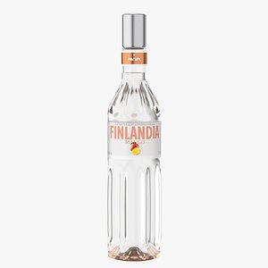 finlandia original vodka 3D model