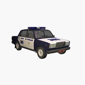 3D Police VAZ 2107