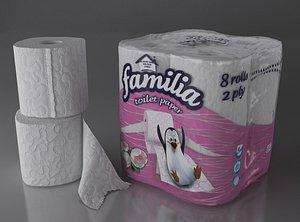 toilet paper 8 rolls model