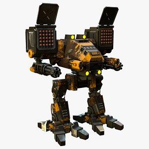 3D model Mechwarrior Catapult 3D Modelpult
