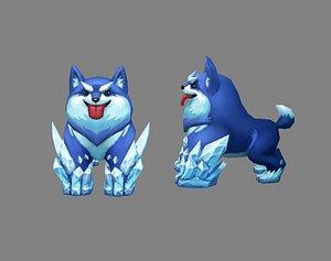 Cartoon Husky - Ice Dog model