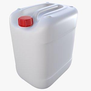plastic jerry 20 liter 3D