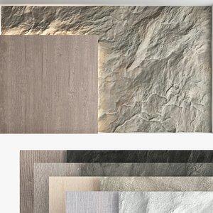 3D Decorative wall panel set 57