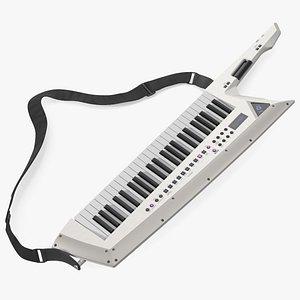 Keytar White model