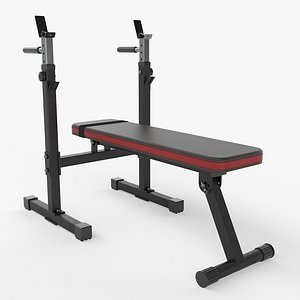 3D bench dip station model