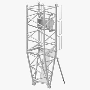 crane s pivot section 3D model