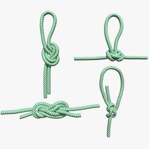3D knot climbing
