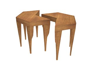 Hexa table 3D model