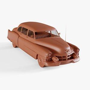 cadillac sedan 1953 3D