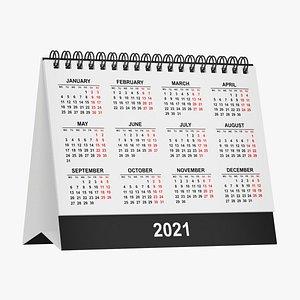 calendar office 3D