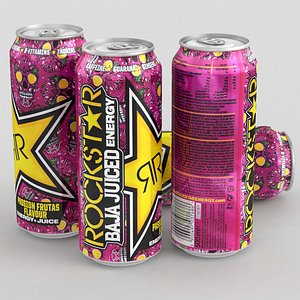 energy drink beverage 3D model