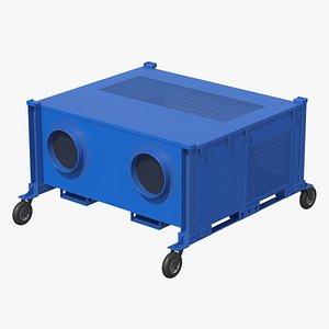 3D Portable Air Filtration System model