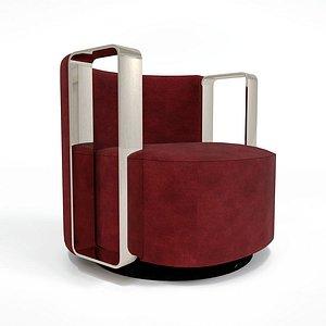 Sofa Fendi Casa 3D model