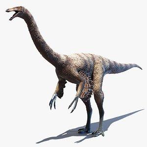 3D model ornithomimus