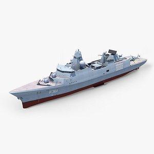 huitfeldt frigate mh-60 iver 3D model