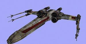 x-wing starwars - model