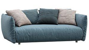 Meridiani Sofa SCOTT 3D