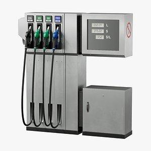 3D pump gas model